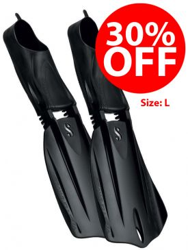 CLEARANCE - 30% OFF - Scubapro Seawing Nova Full Foot Fins - Large