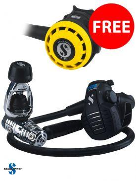 BLACK FRIDAY - Scubapro MK25 EVO / D420 Regulator + FREE R195 Octopus