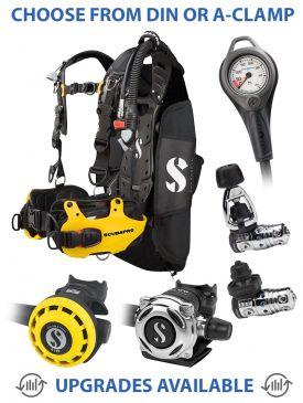 Scubapro Hydros Pro BCD, MK25 EVO/A700 Reg, R195 Octopus & Gauge