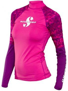 Scubapro Long Sleeve Womens Rash Guard - Flamingo