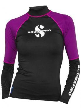 Scubapro Long Sleeve Womens Rash Guard - Jewel