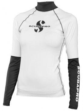 Scubapro Long Sleeve Womens Rash Guard - Shell
