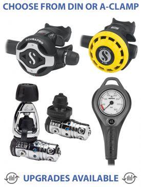 Scubapro MK25 EVO/S620TI Regulator, R195 Octopus & Gauge