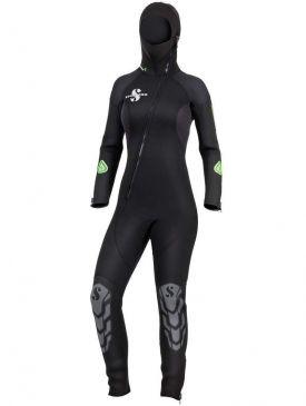 Scubapro Oneflex Hood Front Zip 7.0 Wetsuit - Ladies
