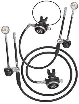 Scubapro Sidemount Regulator Kit - MK25 Evo / G260