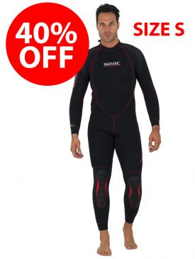 CLEARANCE - 40% OFF - Seac Alfa 5mm Mens Wetsuit - Small