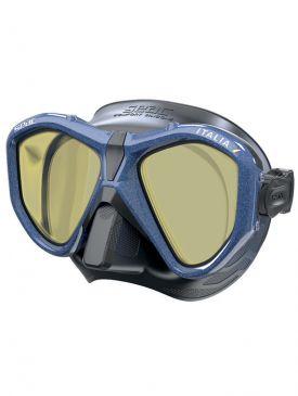 Seac Sub Italia Mask (Black Skirt, Mirrored)