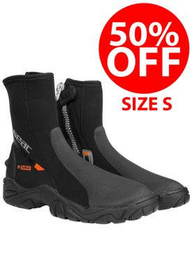 CLEARANCE - 50% OFF - Seac Pro HD 6mm Boots - Size S