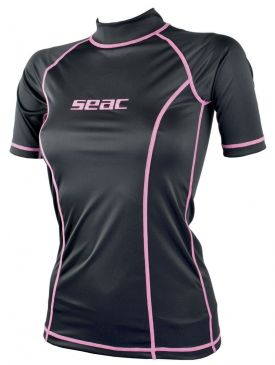 Seac Sub T-Sun Short Sleeve Rash Guard - Ladies