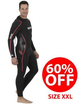 CLEARANCE 60% OFF - Seac Sub Libera 5mm Wetsuit - Mens XXL