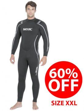 CLEARANCE 60% OFF - Seac Sub Libera 7mm Wetsuit - Mens XXL