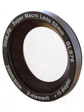 Sealife Super Macro Lens (SL976) w/ 52mm DC Thread Mount Adapter