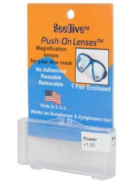 SeeDive Push On Lenses