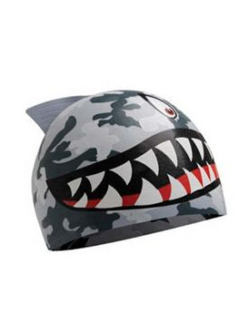 TYR Shark Kids Swim Cap