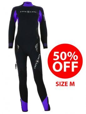 50% OFF - Aqua Lung Balance Comfort 5.5mm Womens Wetsuit - Size M
