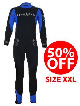 50% OFF - Aqua Lung Balance Comfort 5.5mm Mens Wetsuit - Size XXL