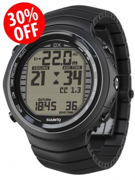 Black Friday Special - 30% OFF - Suunto DX Dive Computer (Titanium)