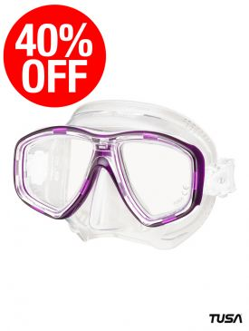 CLEARANCE - 40% OFF TUSA Freedom Ceos Mask - Dragon Fruit Purple