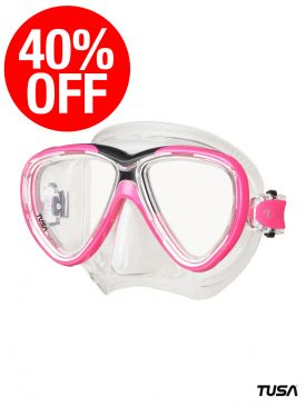 CLEARANCE - 40% Off TUSA Freedom One Mask - Hot Pink