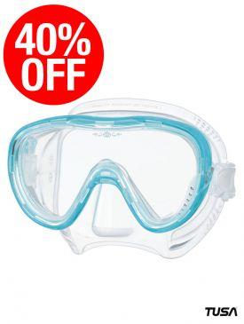 CLEARANCE - 40% OFF - TUSA Freedom Tina Mask - Light Blue