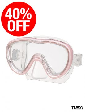 CLEARANCE - 40% OFF - TUSA Kleio II Mask - Pastel Pink