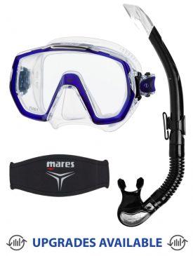 TUSA Freedom Elite Mask, Snorkel & Mask Strap