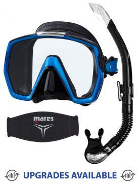 TUSA Freedom HD Mask, Snorkel & Mask Strap