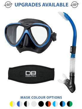 Tusa Freedom One Mask & Snorkel Package