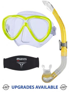 TUSA Freedom One Mask, Snorkel & Mask Strap