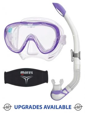 TUSA Freedom Tina Mask, Snorkel & Mask Strap