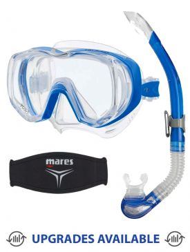 TUSA Freedom Tri-Quest Mask, Snorkel & Mask Strap