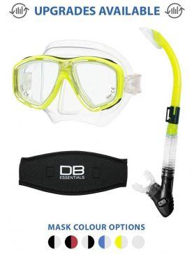 Tusa Geminus M-28 Mask & Snorkel Package