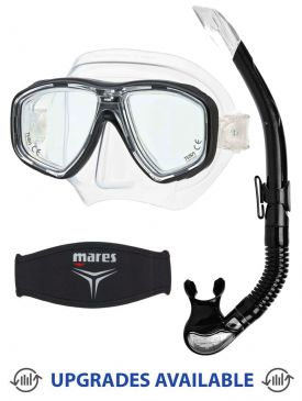 TUSA Geminus Mask, Snorkel & Mask Strap