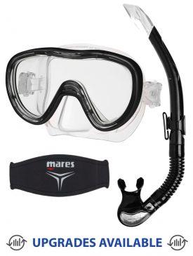 TUSA Kleio II Mask, Snorkel & Mask Strap