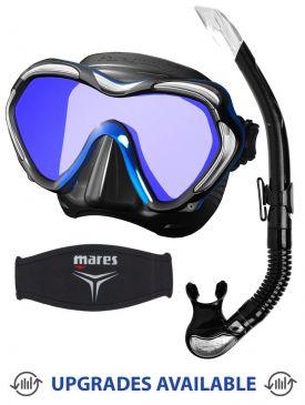 TUSA Paragon S Mask, Snorkel & Mask Strap