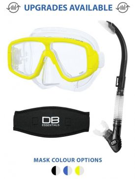 Tusa Platina Mask and Snorkel Package