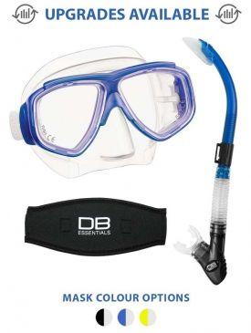 Tusa Splendive II Mask & Imprex Hyperdry Snorkel Package