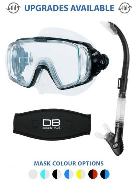 Tusa Visio Tri-Ex Mask and Snorkel Package
