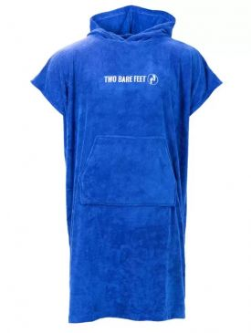Two Barefeet Towel Robe Blue