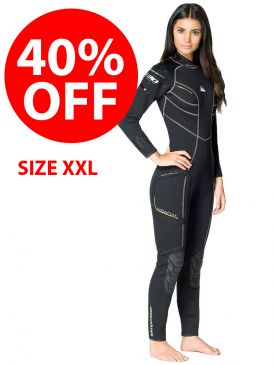 CLEARANCE - Waterproof W30 Womens Wetsuit 2.5mm - XXL