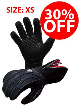 CLEARANCE - 30% OFF - Waterproof G1 3mm Gloves - Size XS