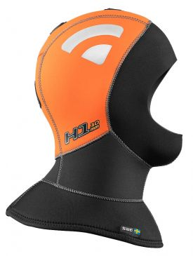 Waterproof H1 5/10mm High Visibility Polar Full Hood