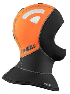 Waterproof H1 5/7mm High Visibility Polar Full Hood