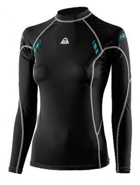 Waterproof R30 Ladies Rash Vest - Long Sleeve