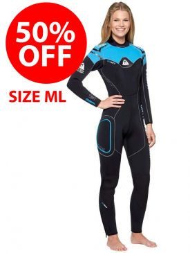 50% OFF - Clearance Waterproof W50 5mm Ladies Wetsuit - ML