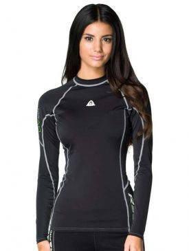 Waterproof R30 Ladies Rash Vest - Long Sleeve