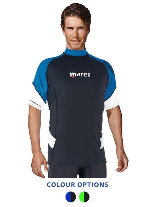 Mares Men/'s Short Sleeve Loose Fit Rash Guard