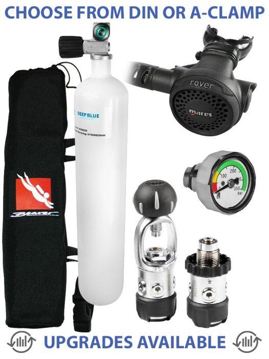 Scuba Diving Dive Stage Bottle Tank Cylinder Quick Release Clip Camera