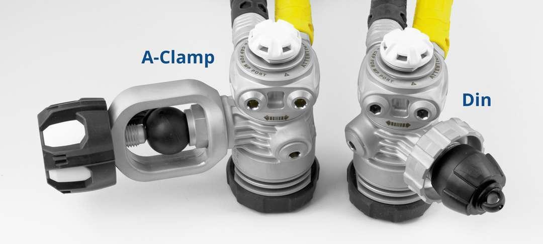 Regulator Clamp types